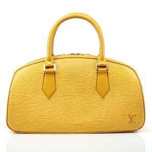 Auth Louis Vuitton Jasmine Yellow Epi #2734L20